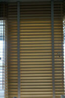 Beautiful Maple Wood Blinds