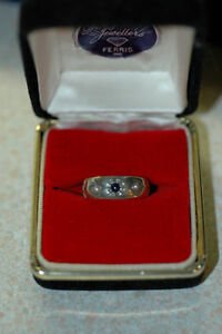 Ladies Hand Made Sterling Silver Band