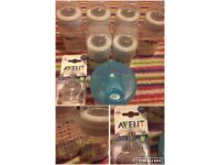 Avent bottles & accessories.