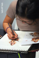 Young Adults Drawing and Painting Art Classes with Sanela Dizdar
