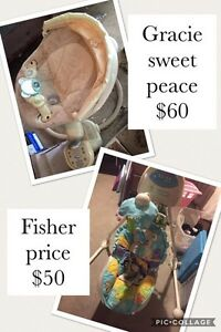Fisher price swing / graco sweet peace