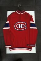 Red Montreal Canadiens Sweater Large Official NHL Product