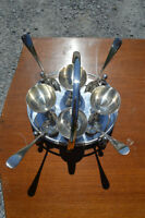Beautiful Silver Plated Egg Server