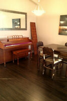 Furnished condo!! Close to the mine with two parking stalls!!