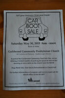Car Trunk Yard Sale