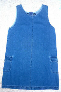 "youth Denim Dress : As shown : Clean,SmokeFree..30""Long Cambridge Kitchener Area image 2"