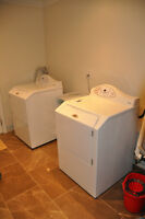 Maytag Neptune Front Loading Washer and Electric Dryer Set