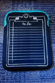 Soft Tablet Sleeve Bag - New