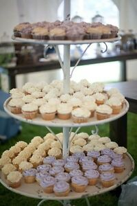 3 Tier Wedding Cupcake Stand