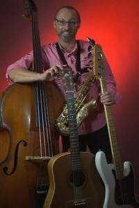Saxophone, guitar, double bass and electric bass lessons Ashbury Canterbury Area Preview