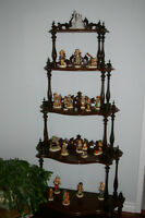 Exquisite 160 Year-old Mahogany Etagere