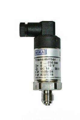 Wika C-10 Pressure Transmitter 0-250 Bar 8381016
