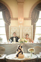 King & Queen Chairs Available for your BIG day!