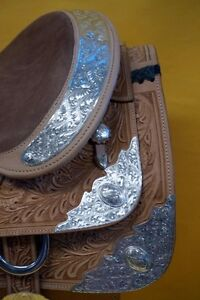 "16"" Western Show Saddle+Tack Light Colour~DEAL$799~New+Warranty London Ontario image 4"