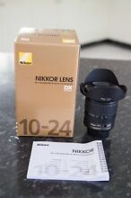 Nikon 10-24mm 3.5-4.5G ED DX Excellent condition AU stock Sunnybank Brisbane South West Preview