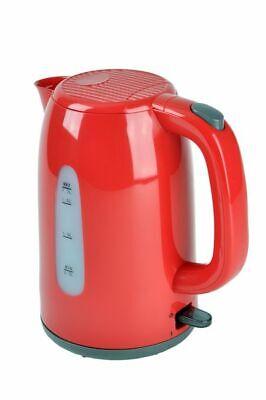 Hervidor de Agua Rojo 1,7 Litros 2200 Vatios Jug Nuevo 13353