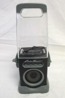 "Speaker Eddie Bauer ICanister Plastic See-Through Top Batteries Required 15"""