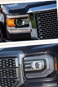 Wanted : swap headlights on GMC Sierra