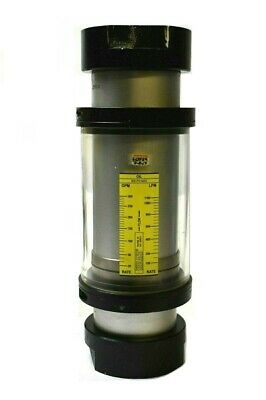 Hedland H901a-300 Oil Flow Meter 3 Nptf 20 - 300 Gpm 800 Psi