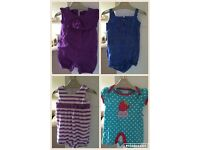 3-6 months summer clothes bundle