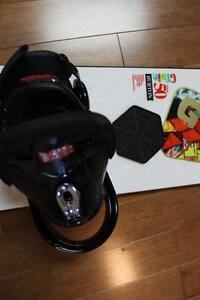 Complete snowboard and accessories