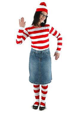 Where's Waldo, Wenda Adult Female Costume Kit LARGE/XL NEW - Seal Costume Adults