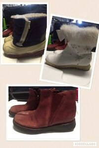 Fall-winter-spring boots for kids size 10 West Island Greater Montréal image 1