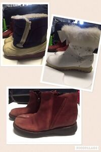 Fall-winter-spring boots for kids size 10