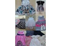 Huge bundle, baby girl/toddler clothes 6mths to 3 years