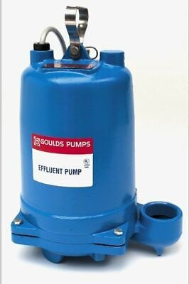 Goulds We0511hh 12hp Submersible Effluent Pump