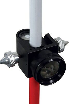 Adirpro Pin Pole With 25 Mm Mini Prism System For Topcon Leica Sokkia Seco