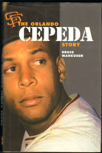 """The Orlando Cepeda Story"" hardcover book, autographed by author"