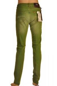 PT05-pantalone-jeansato-Uomo-verde-Tg-31-34-35-37