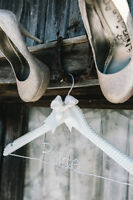 One of A Kind Personalized Wedding Hangers