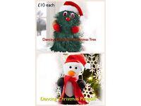 Dancing Christmas Tree or Penguin