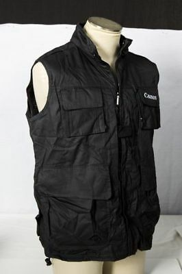 Canon Vest Size Large fit 5D Mark III II 7D NEW Kit USA Jacket photography NEW for sale  Shipping to India