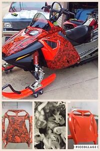 Customize your vehicle,sled, bike & so much more!