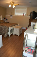 All inclusive 1 bedroom House appartement in Dieppe