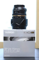 (New) Tamron 24-70 f2.8 VC for Canon