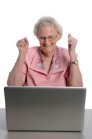 >>>*** Computer Lessons, Made For Seniors ***<<<
