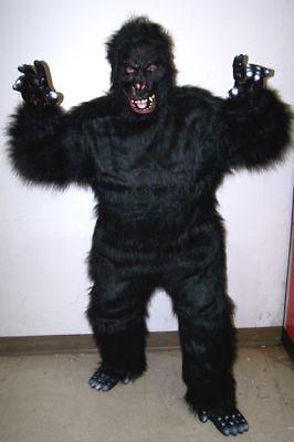 EXPERT WILD GORILLA  ADULT COSTUME monkey party suit SCARY dressup halloween new (Wild Gorilla Kostüme)