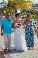 Size 10 White wedding dress.  Make an offer