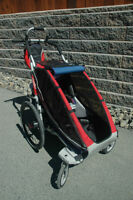 Chariot Jogging/Biking carrier with accessories included