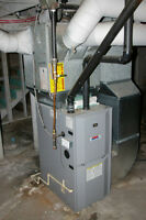 natural gas / propane furnace