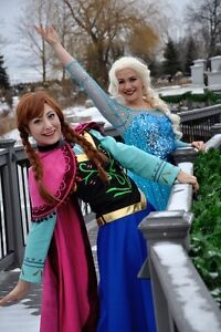 Princess Parties: Elsa, Anna, and more!  Face paint too! Kitchener / Waterloo Kitchener Area image 1
