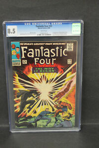 BLACK PANTHER ORIGIN FANTASTIC FOUR 53 CGC 8.5  COMICS