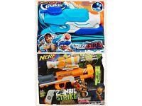 2 X NEW nerf guns