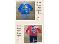 Childrens character pyjamas! Various sizes! Brand new!!! £5 a pair....great bargain!!!!