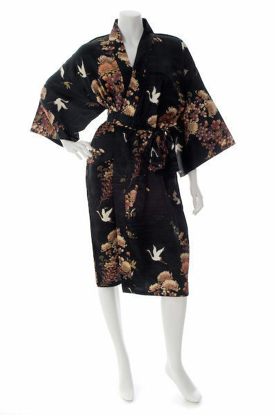 Silk and Cotton Dressing Gowns