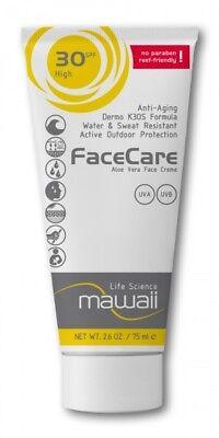 Schutz Spf 30 Face (mawaii FaceCare - SPF 30 -  Anti-Aging - Sport Sonnenschutz - Sonnencreme 30ml)
